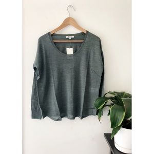 Madewell wool blend pullover